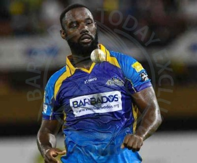 Man of the Match Raymon Reifer claimed 5 for20 in the Tridents' victory over the Guyana Amazon Warriors.