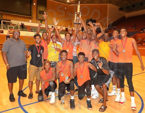 Future Pinelands Under-19 Basketball Team repeated as champions for a second consecutive year in the BABA Summer Jam League. (Pictures by Morissa Lindsay)