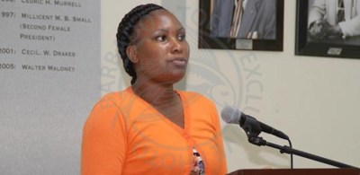National Union of Public Workers Gender Affairs Chairman Makala Beckles-Jordan