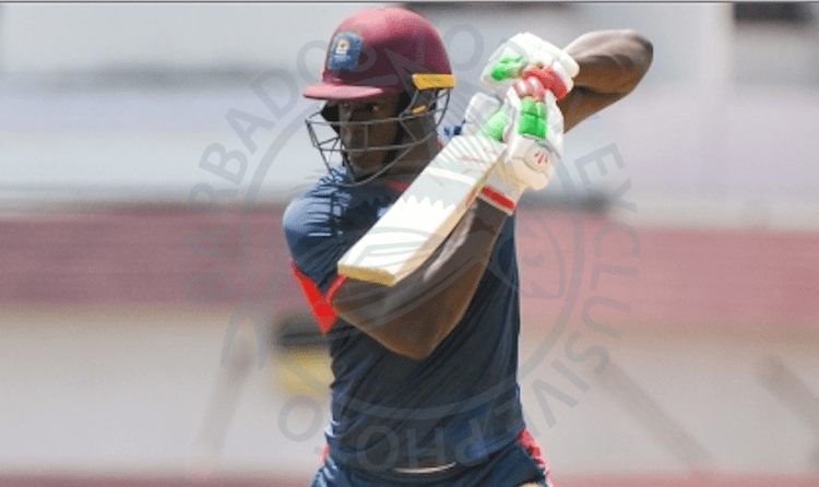 Carlos Brathwaite starred with bat and ball against the Barbados Pride.