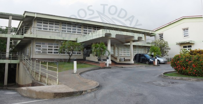 The Ministry of Education closed the Lester Vaughan School on Wednesday for cleaning.