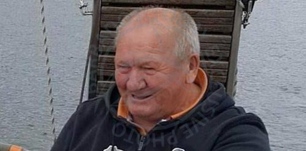 Stanislaw Dabrowny fell off his yacht on November 21st, 2017 and has not been seen since.