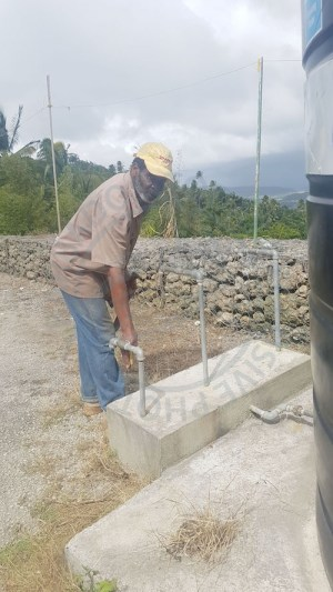 'Sobie', a resident of Chimborazo is upset with the Barbados Water Authority's management of his community's water woes and says if it doesn't improve, he will no longer be paying his water bill.