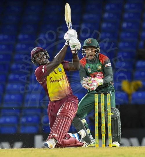 All-rounder Rovman Powell top-scored with 50 for West Indies.