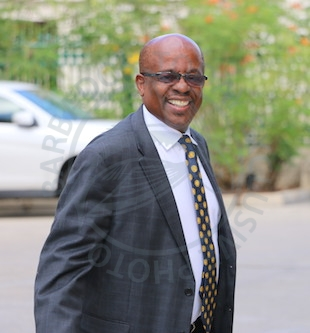 Minister of Housing, Lands and Rural Development George Payne