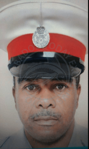 Wendell Jemmott, who died last year, was officially promoted posthumously, believed to be a first such occurrence in the Royal Barbados Police Force.