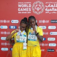 Barbados athletes win special olympics world games gold