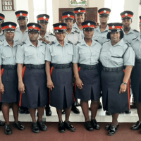 Policewomen dedicated to community outreach