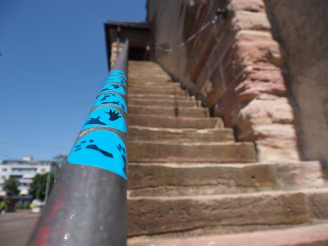 Spuren führen in eines der alten Basler Stadttore