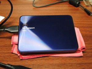 Portable HDD「Blue Shotgun」