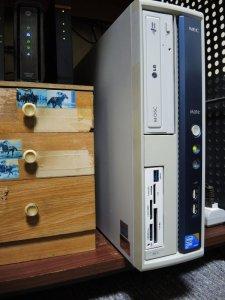 旧DVDドライブ組み込み時