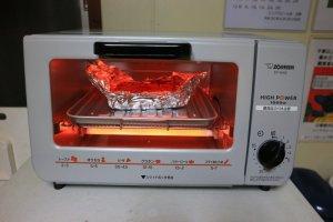 オーブントースター・初仕事