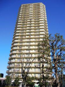 当時住んでいた高層住宅