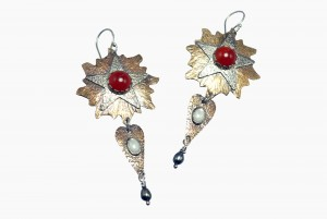 Metal Work - Le Roi Soleil - Earrings