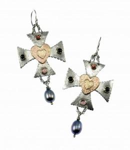 Metal Work - De Medici - Earrings copy
