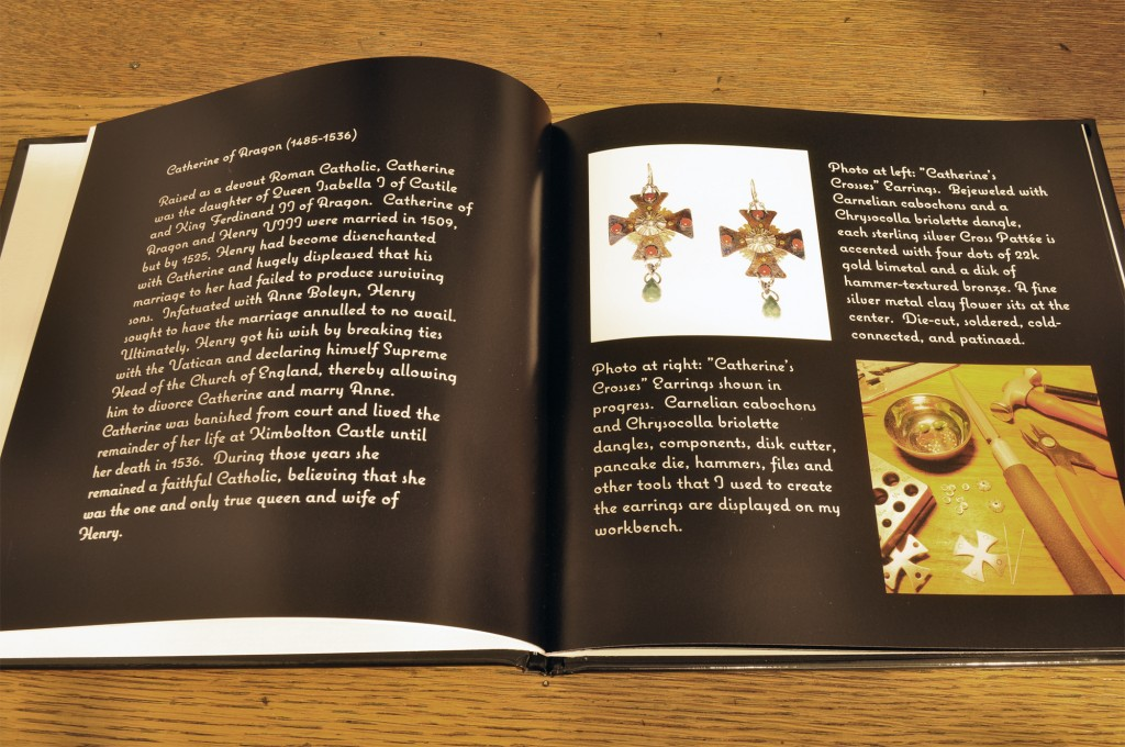 Shutterfly - Medieval Muses Jewelry Book