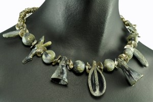 Polymer Clay - Pods - Necklace