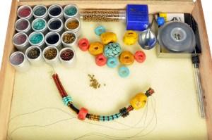 Beadwork - Ndebele with PolymerFaux Gemstones