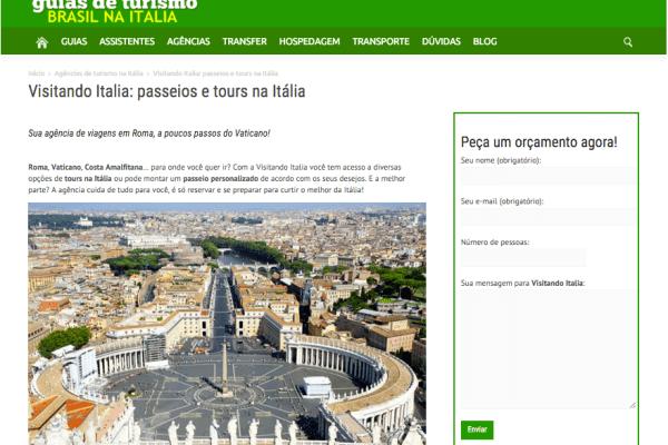 Redazione per Agenzia di Viaggio