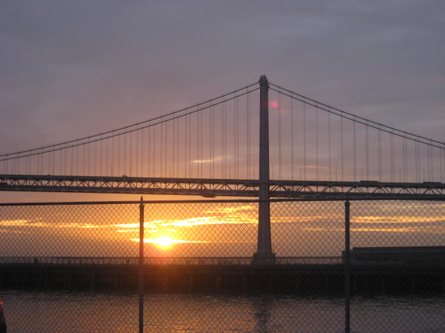 Only when we cross a bridge, we make new encounters in our lives.  Barbara Bullock