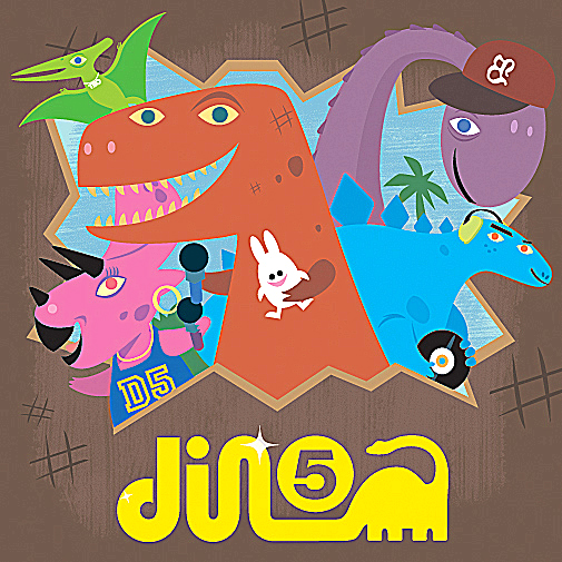 Music Review: 'Baby Loves Hip Hop Presents the Dino Five'
