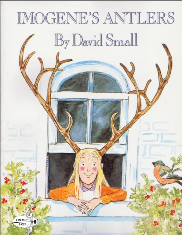Children's Library: 'Imogene's Antlers'