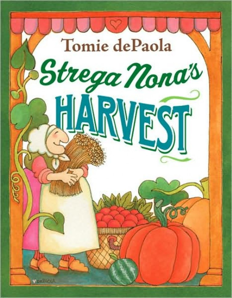 Children's Library: 'Strega Nona's Harvest'