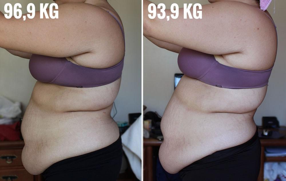 Bárbara Cavalcante antes e depois
