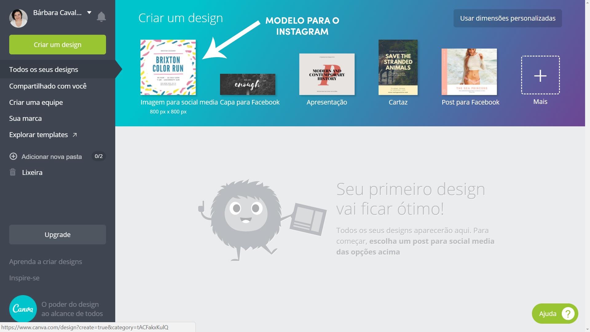 Canva design gráfico