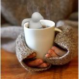 filtro de chá infusor Ms Tea Bonequinho