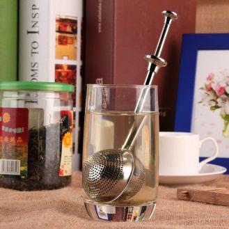 infusor de chá redondo