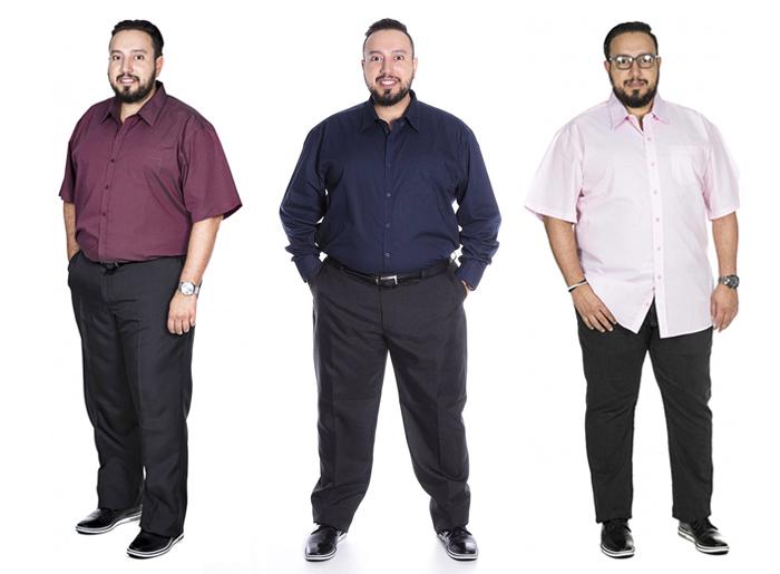 a2d8326b6649 Moda Plus Size Masculina - Estilo Social Big Shirts. Camisetas da loja ...