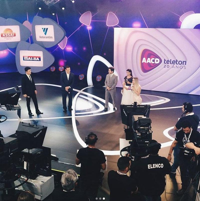 Bárbara Cavalcante no Teleton 2017
