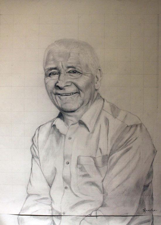 Portrait of K Winters