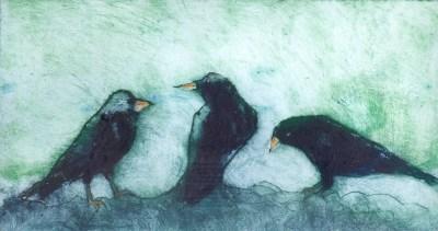 Three Blackbirds
