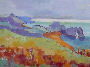 SOLD. Coastal Path from Durdle Door
