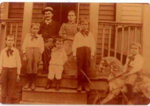 Ed Theo Mike Lawrence Elizabeth Mike Jr. and John Breitenstein, Prestonia, Jefferson Co., Kentucky