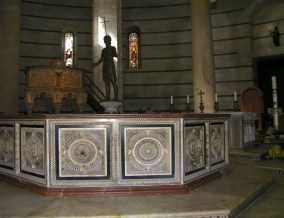 The Baptistry font