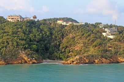 The shores of Antigua
