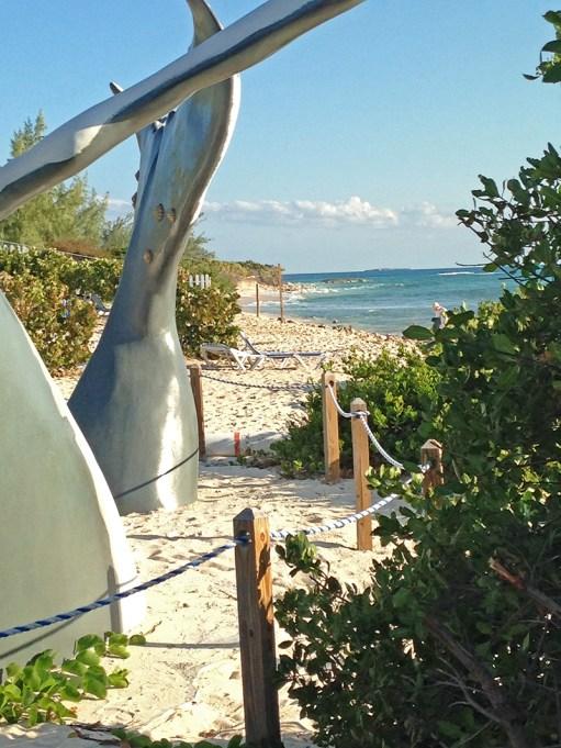 The beach at Grand Turk