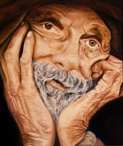 Barbara Mapelli, Ritratto di anziano