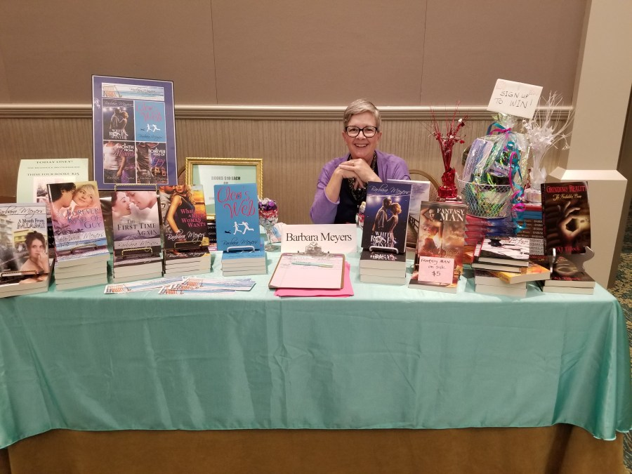 Barbara Meyers at the Florida Library Conference May 2018
