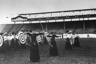 Tiro con l'arco femminile ai Giochi olimpici estivi (Londra, Inghilterra - 1908)