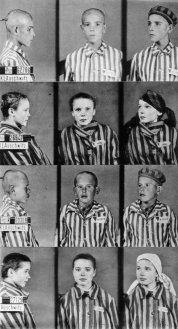 1940 - Quattro bambini prigionieri al Campo di Concentramento di Auschwitz