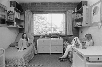 Vita in dormitorio nel 1970