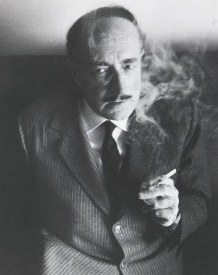 Salvatore Quasimodo , 1962. Fotografia di Ugo Mulas