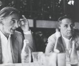 Fautrier con il gallerista Guido Lenoci , 1960. Fotografia di Ugo Mulas
