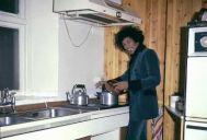 Jimi Hendrix si fa la cena, 1969