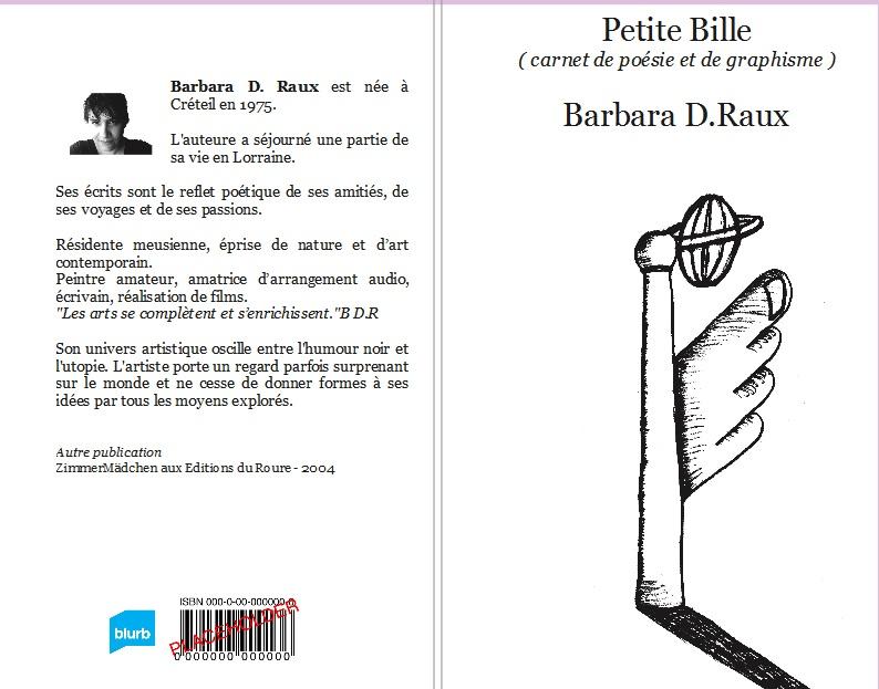 Parution de Petite Bille | poésie et graphisme
