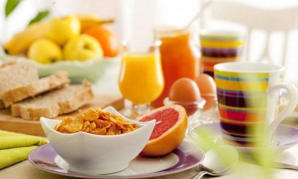 A dieta começa no café da manhã